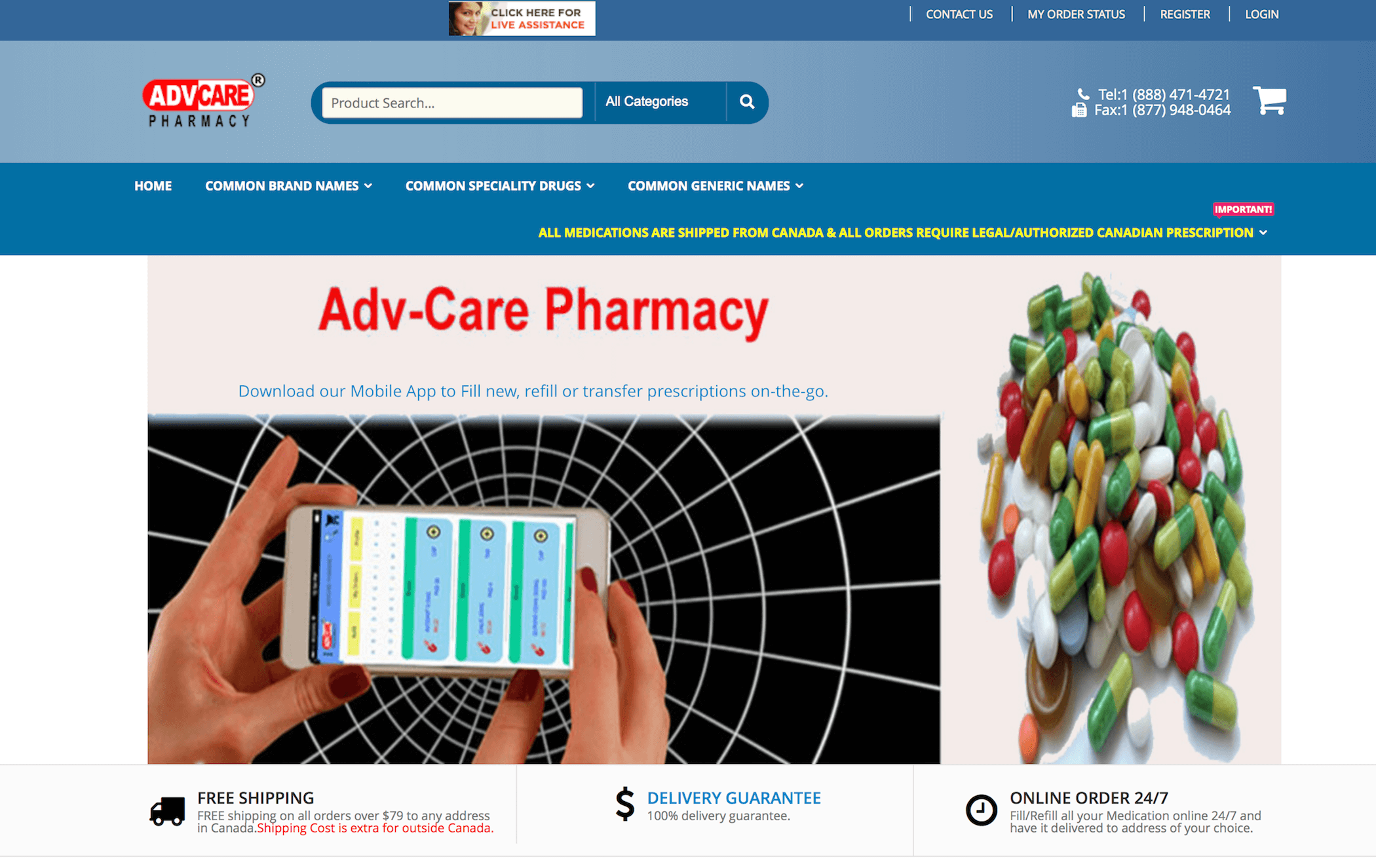 ADVPharmacy.com Pharmacy Review
