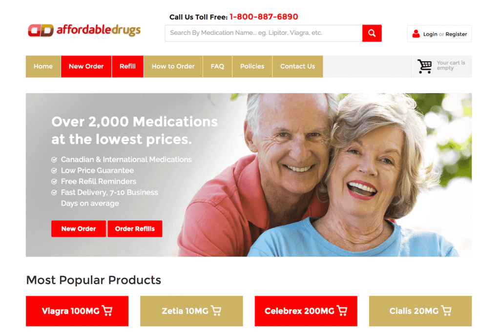 AffordableDrugs.com Pharmacy Review