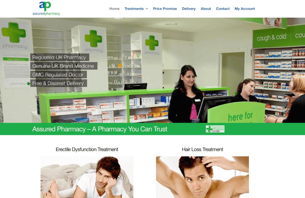 AssuredPharmacy.co.uk Pharmacy Review