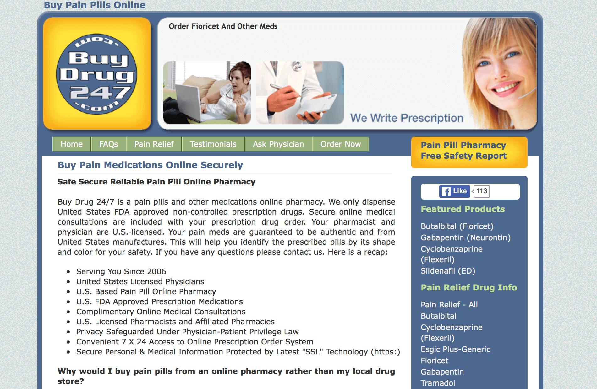 BuyDrug247.com Pharmacy Review