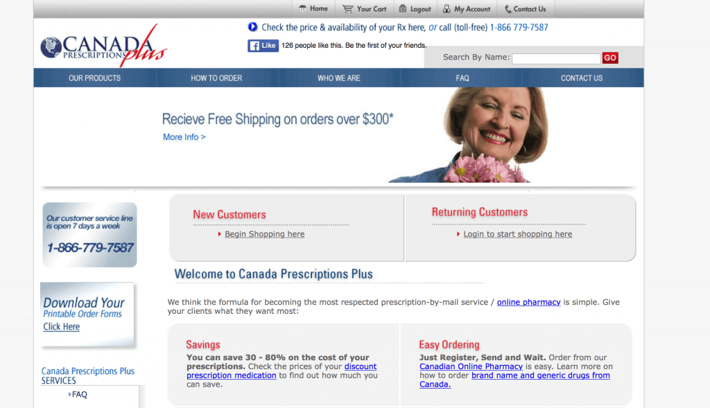 CanadaPrescriptionsPlus.com Pharmacy Review