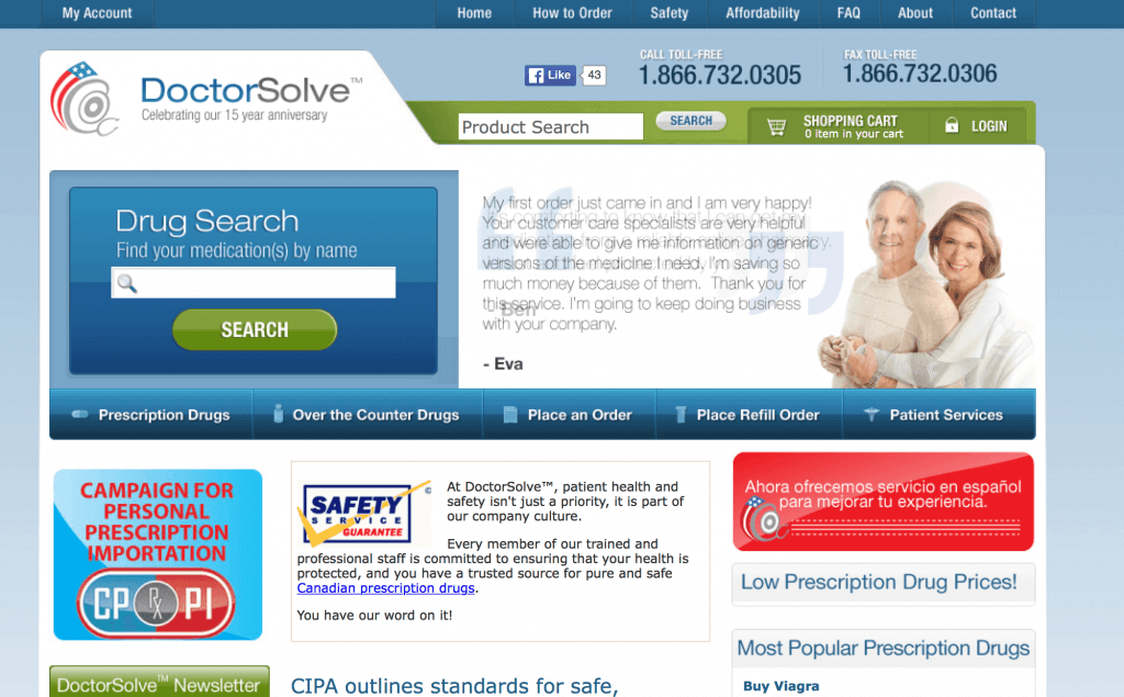 DoctorSolve.com Pharmacy Review