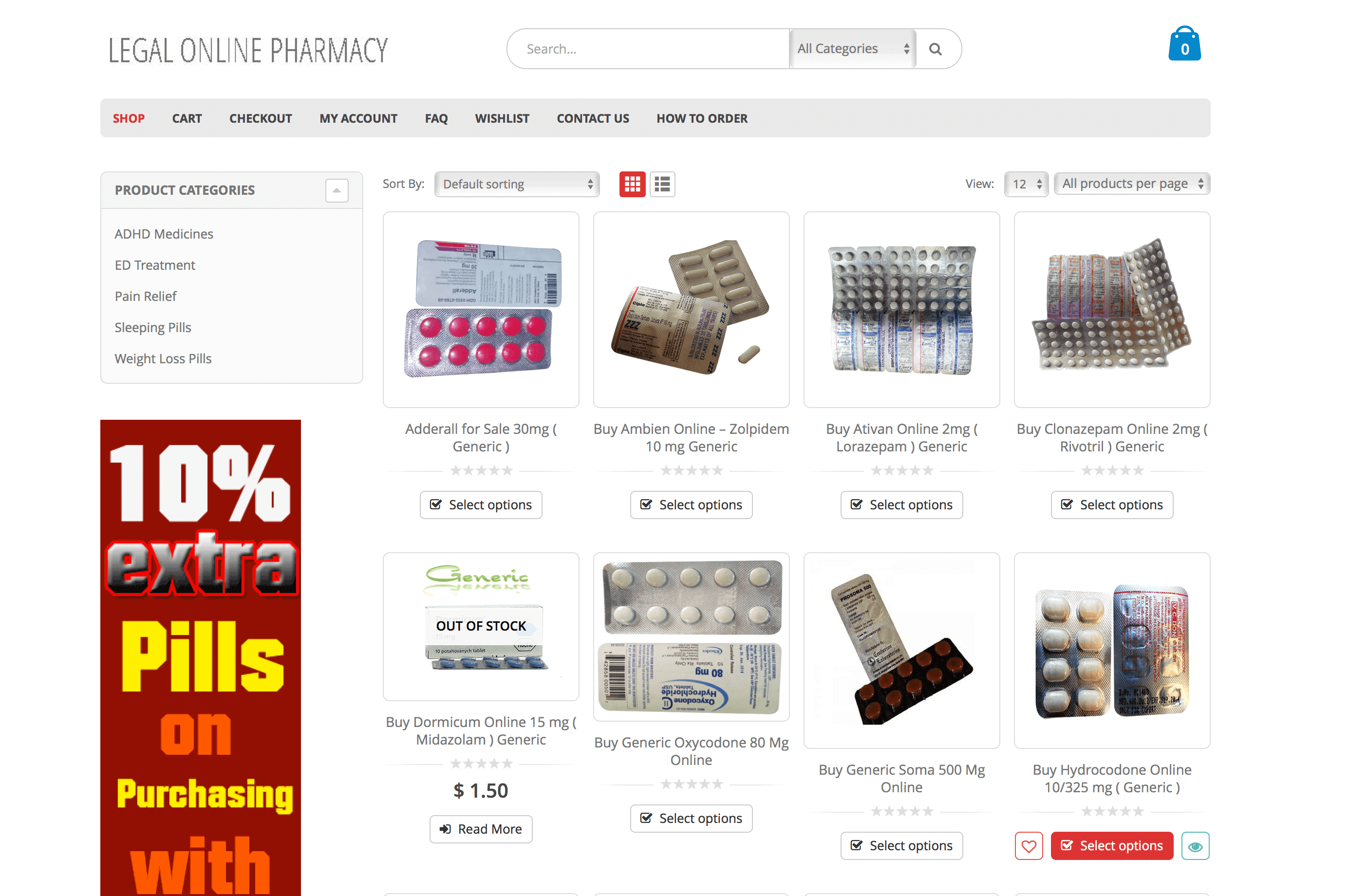 LegalOnlinePharmacy.com Pharmacy Review