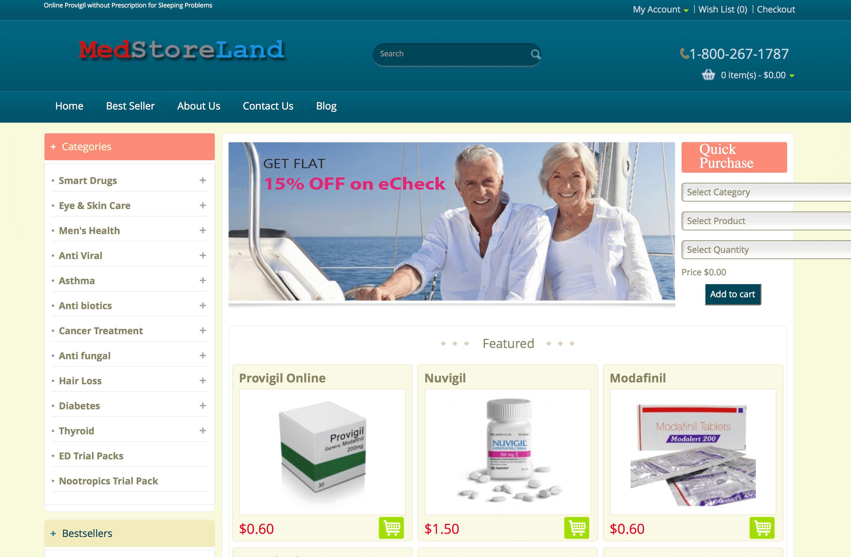MedstoreLand.com Pharmacy Review