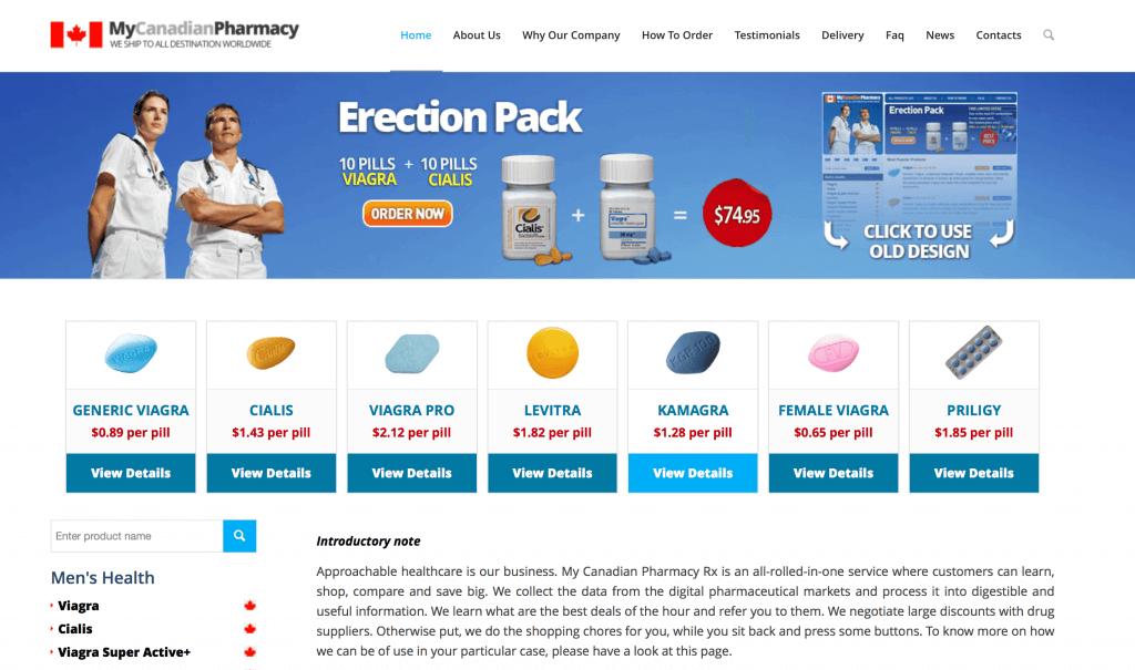 MyCanadianPharmacyRx.com Pharmacy Review