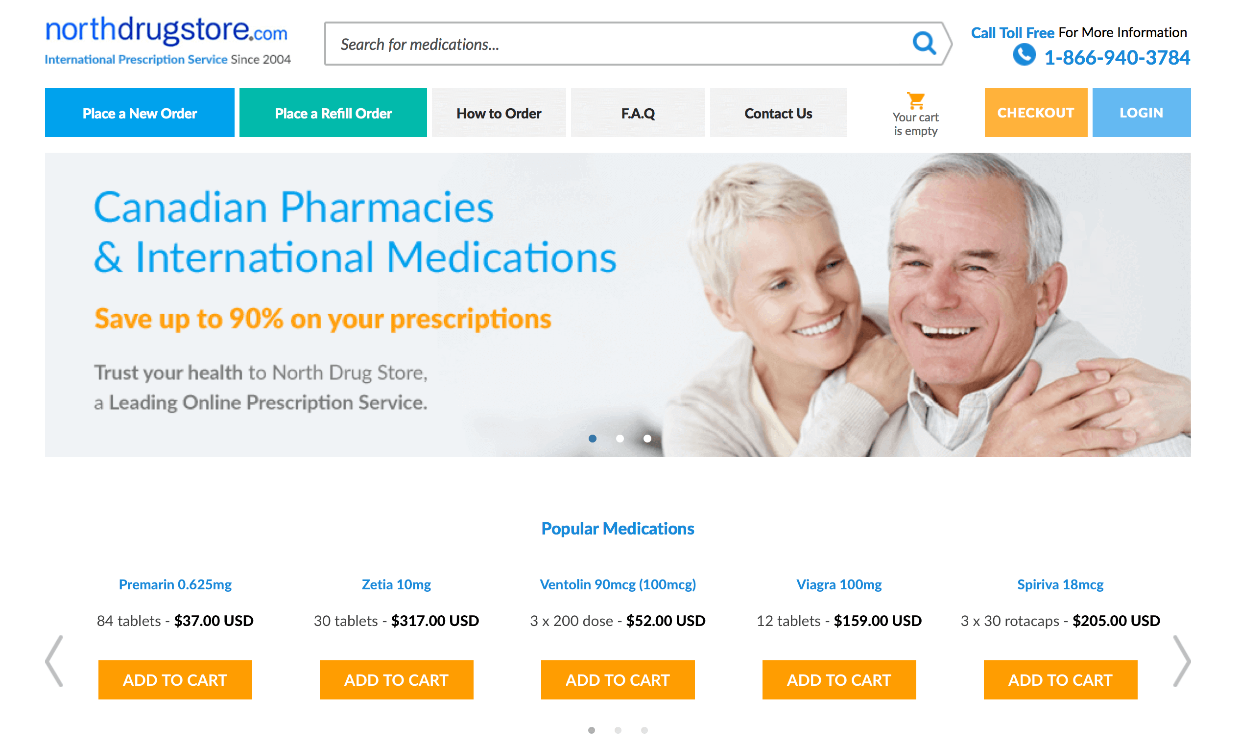NorthDrugStore.com Pharmacy Review