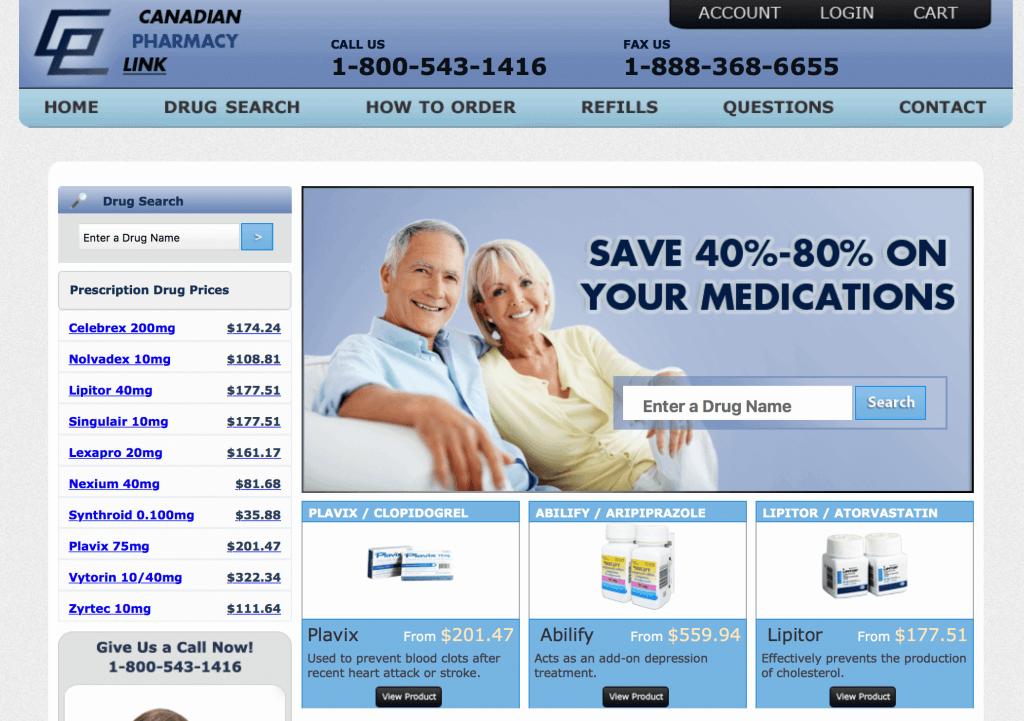 CanadianPharmacyLink.com Pharmacy Review