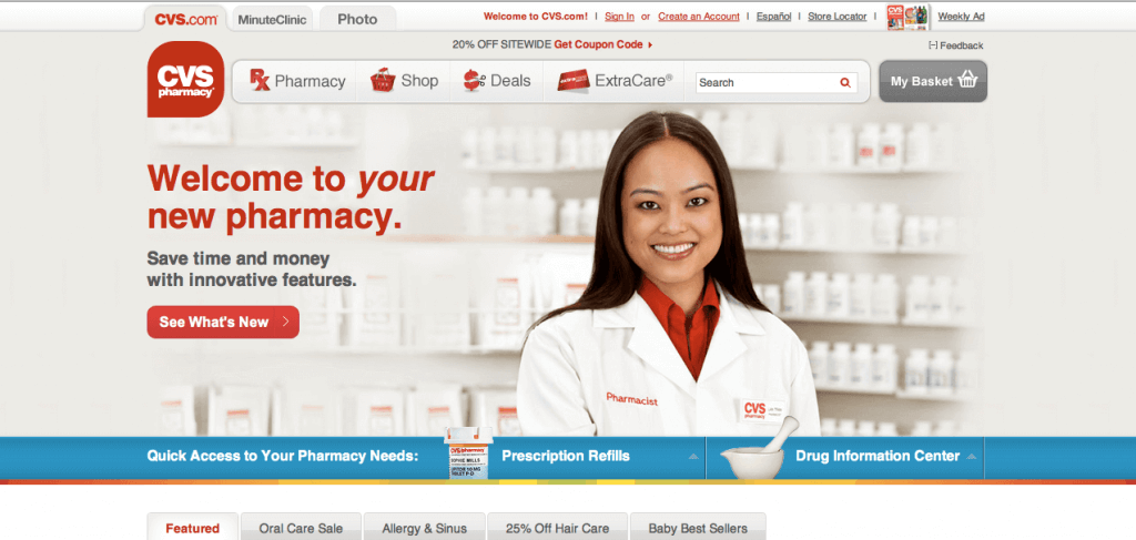 CVS.com Pharmacy Review