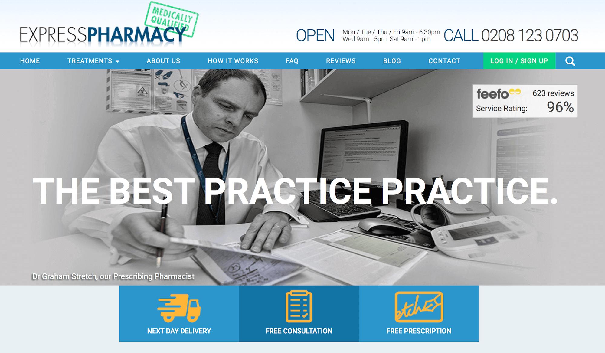ExpressPharmacy.co.uk Pharmacy Review