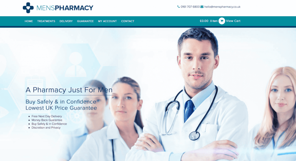 MensPharmacy.co.uk Pharmacy Review