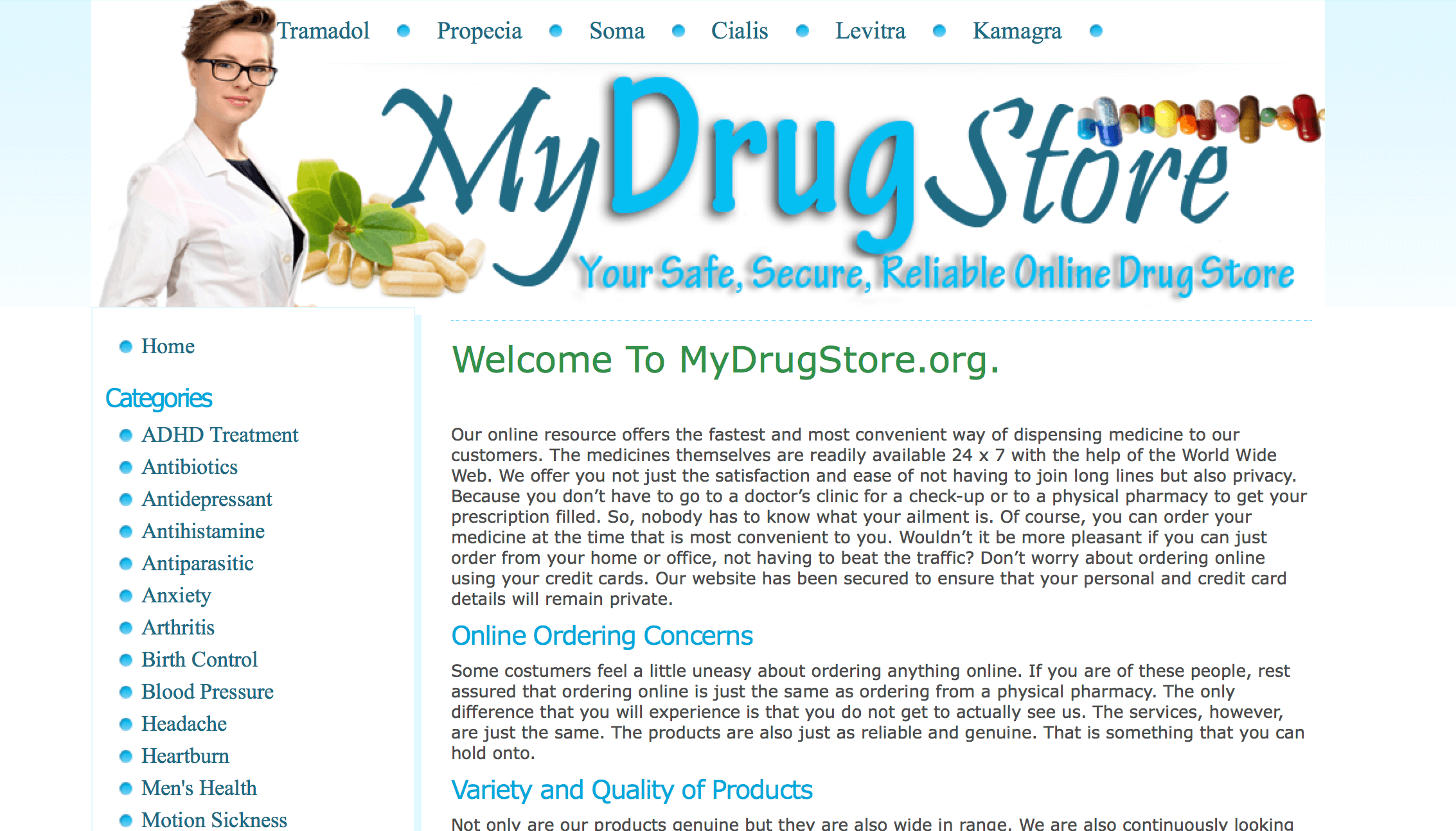 MyDrugstore.org Pharmacy Review