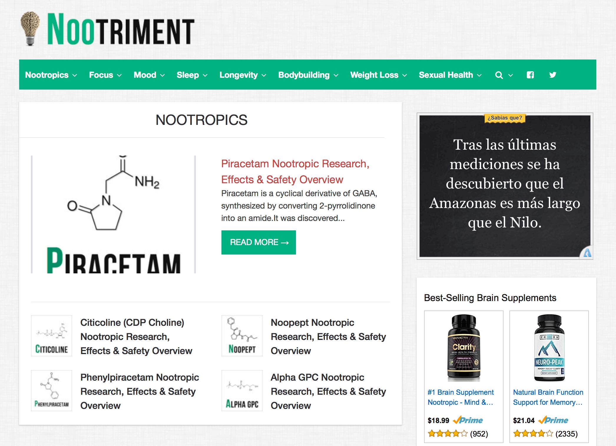 Nootriment.com Pharmacy Review