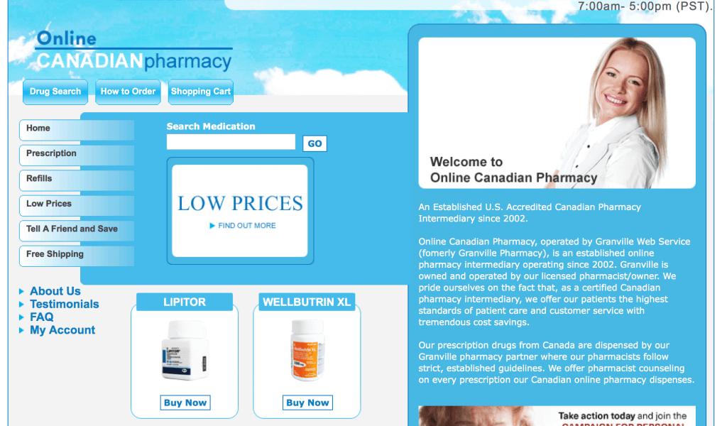 OnlineCanadianPharmacy.com Pharmacy Review