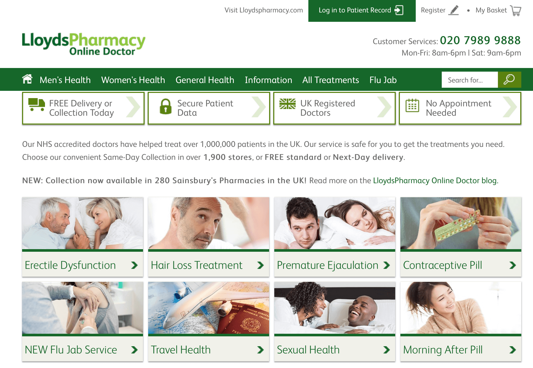 OnlineDoctor.LloydsPharmacy.com Pharmacy Review