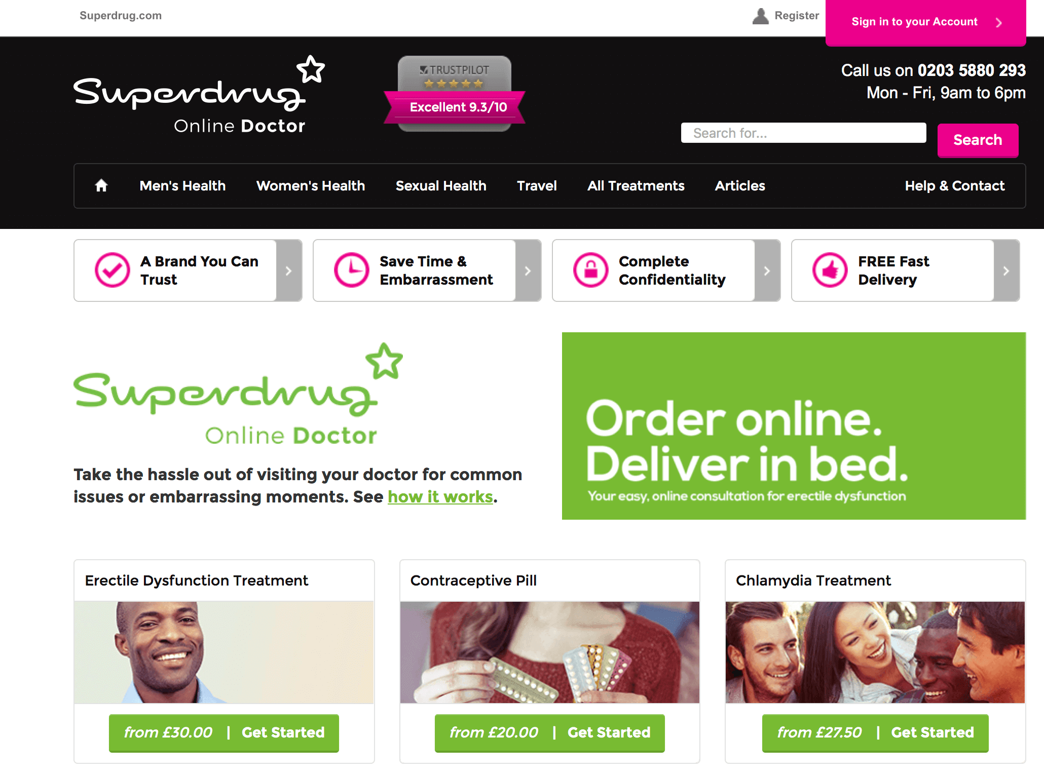 OnlineDoctor.superdrug.com Pharmacy Review