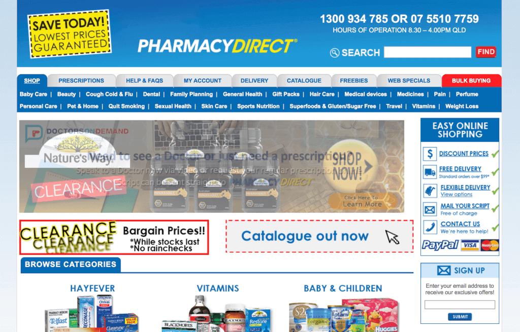 PharmacyDirect.com.au Pharmacy Review