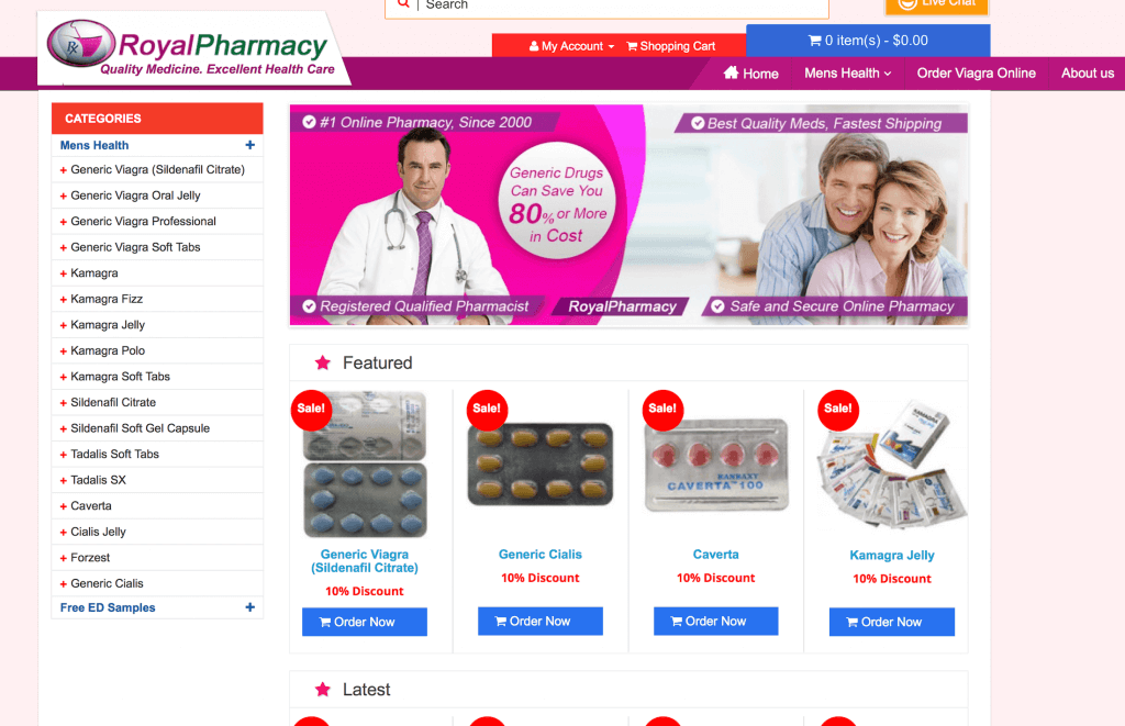 RoyalPharmacy.net Pharmacy Review