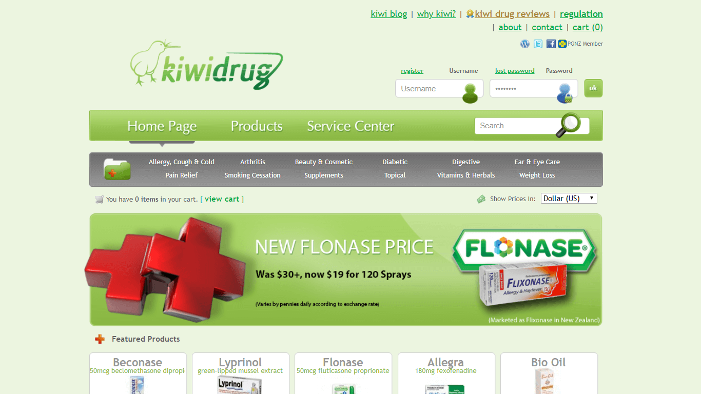 KiwiDrug.com Pharmacy Review