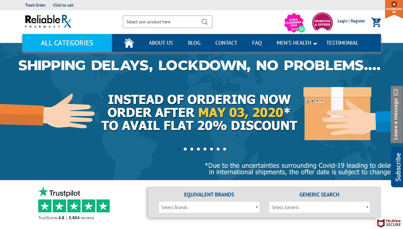 ReliableRxPharmacy.com