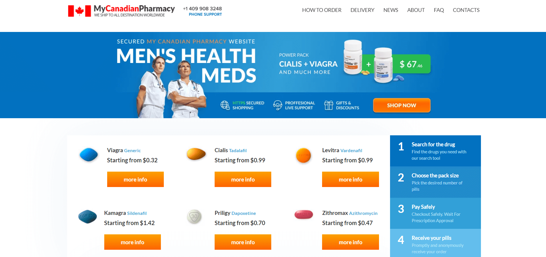 MyCanadianPharmacy.com Review