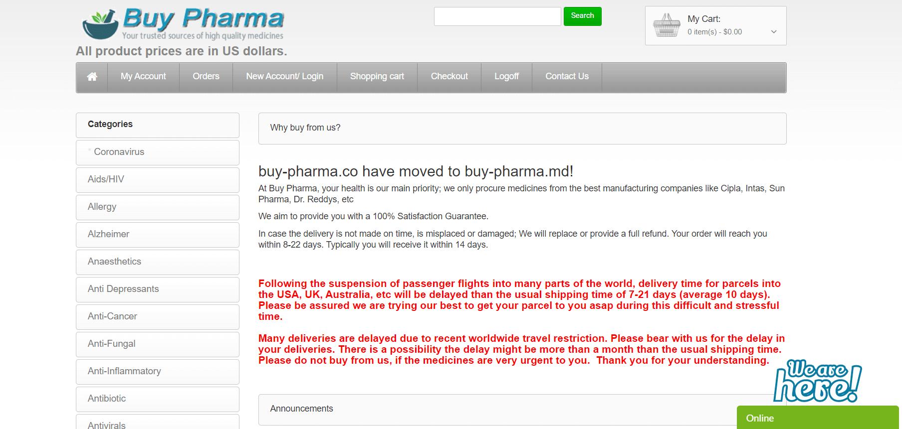 BuyPharma MD