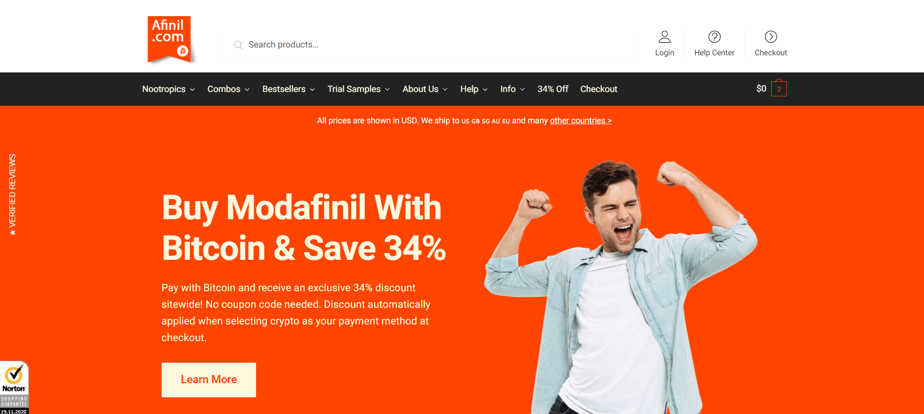 Afinil Online Pharmacy Review
